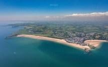 Tenby Beaches - Aerial Drew Buckley
