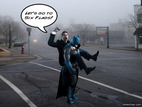 Batman, the ride