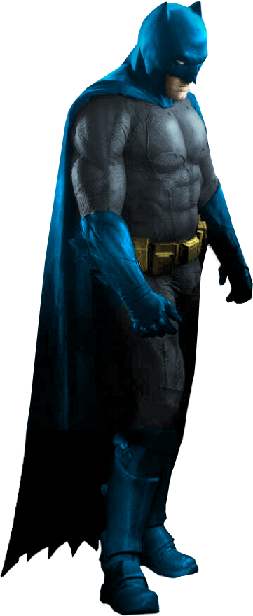 Since the original photo cuts Batman off at the knees, I grafted on a pair of legs from an action figure. Same with the cape.