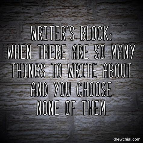 Write's Block