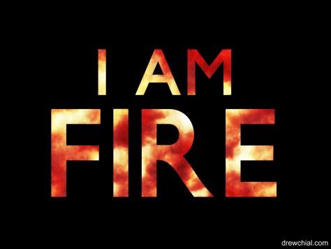 7. I Am Fire Logo