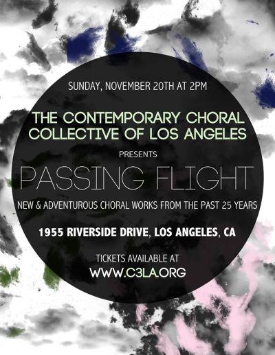 Passing Flight Poster