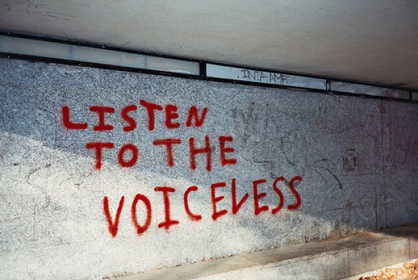 Listen to the Voiceless