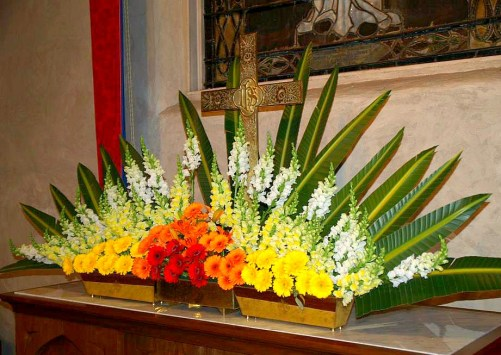 "(Easter Flowers) ""6 Ways We Made This Easter Special"" by Drew Downs"