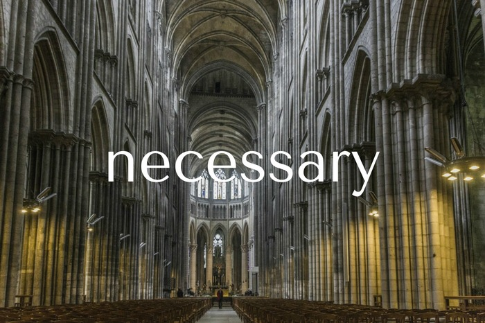 Is the Church Necessary?
