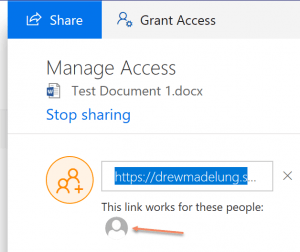 Sharing a File in SharePoint Online or OneDrive with PowerShell