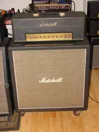 Drew's Geezer Amps - Marshall 1960B Cabinet