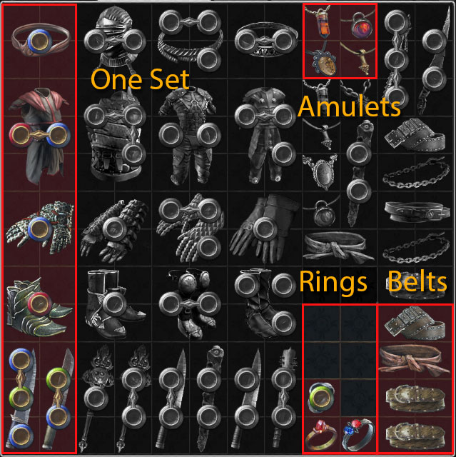 path of exile inventory