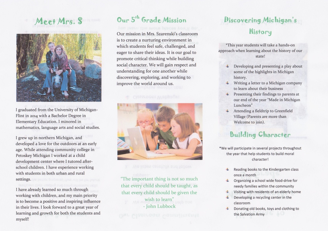 Classroom Resources Drew Szarenski Digital Portfolio Rh Drewszarenski  Weebly Com Classroom Management Brochure School Brochure Template
