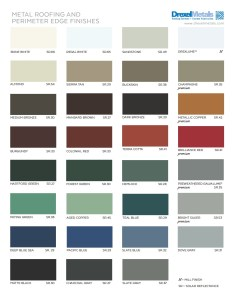 Drexel metals color chart also cards rh drexmet