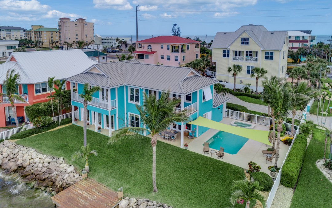 Key West-Style Banana River Home for Sale in Cocoa Beach