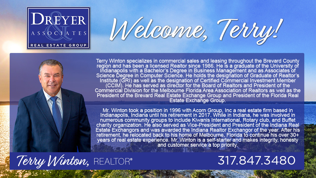 Dreyer Commercial welcomes Terry Winton