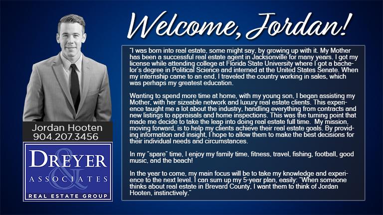 Dreyer & Associates welcomes agent, Jordan Hooten