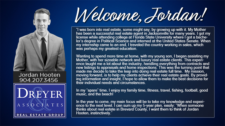 Dreyer & Associates welcomes agent, Jordan Hooten