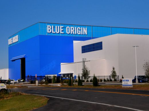Blue Origin is expanding its already massive New Glenn rocket factory at Kennedy Space Center