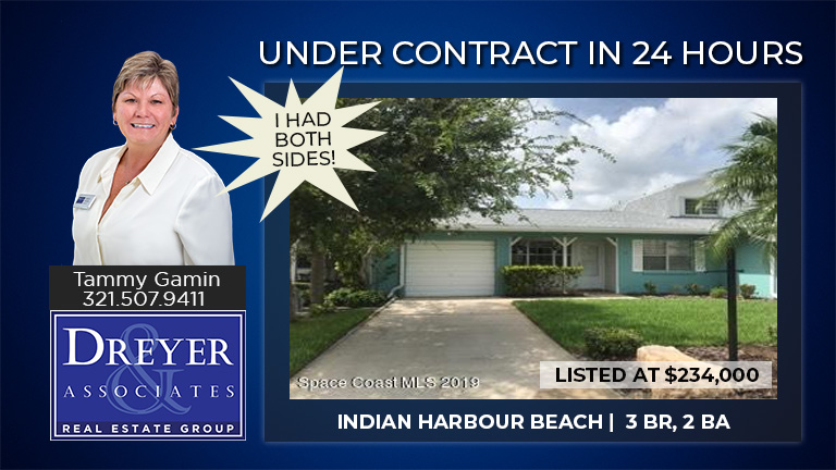 Under Contract in 24 Hours and Tammy Gamin has BOTH SIDES!