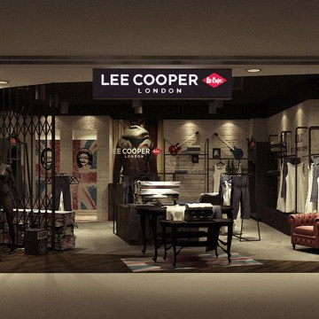 Lee Cooper Retail Store in China :: 2010/05 Hangzhou Wulin Intime shop-in-shop