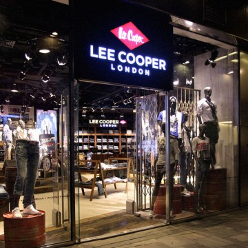 Lee Cooper Retail Store in China :: 2010/08 Beijing Sanlitun flagship store