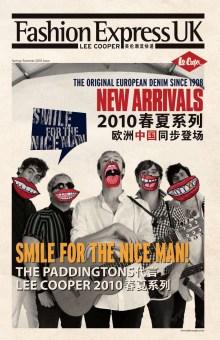 seasonal newsletter, S/S 2010 issue No.2   British Fashion Denim Retail Brand - Lee Cooper in China :: retail design & retailing graphics