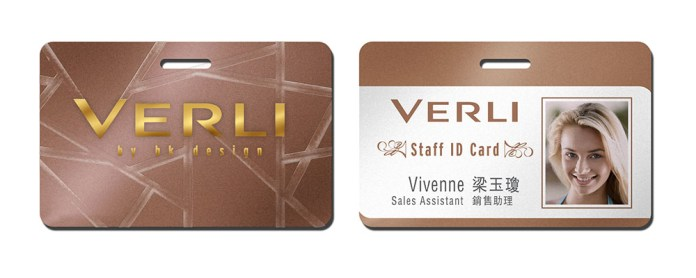 rendering retail staff badge, identity design, copper metallic oriental zen inspired | Women's Leather Goods Retail Brand :: holistic branding