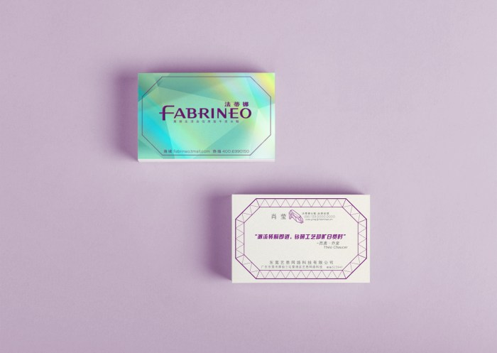 Fabrineo name card