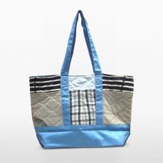 swan blue parent bag, remade recycling diaper bag baby outdoor gear equipment   Second-hand Retail Platform – Green Baby Garden :: Upcycling Product Development