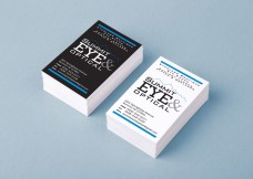 Fashion Branded Eyewear Retail in New Jersey :: branding and identity applications :: Name Cards