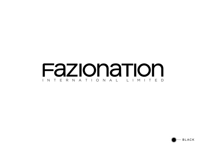 Fazionation corporate logo on white