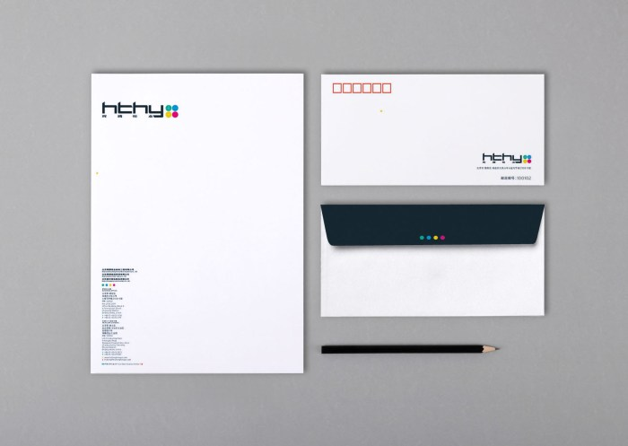 HTHY Group stationery