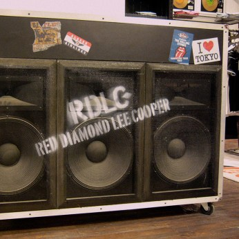 RDLC branded 3 woofers black cashier desk, music related inspired fixture furniture VMD   British Fashion Denim Retail Brand - Lee Cooper in China :: retailing design and visual merchandising all shops props