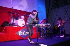 live band performance in 2010 Blue Monday:Red China | Lee Cooper in China :: retailing fashion show and event management