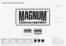 black and white version outlined revamped identity, before and after, new design and old logo   British Tactical Apparel Wholesale Brand – Magnum Essential Equipment :: branding