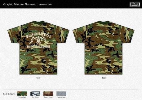design US camouflage tee white print graphics for sale   British Tactical Apparel Wholesale Brand – Magnum Essential Equipment :: branding