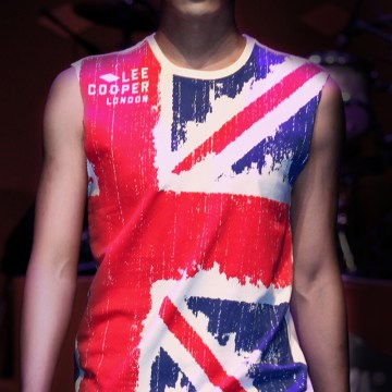 feature picture, union jack graphics tee | British Fashion Denim Retail Brand – Lee Cooper in China :: fashion graphics