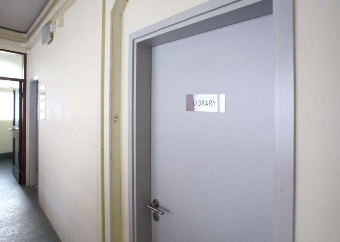 Ricci Hall :: new signage design
