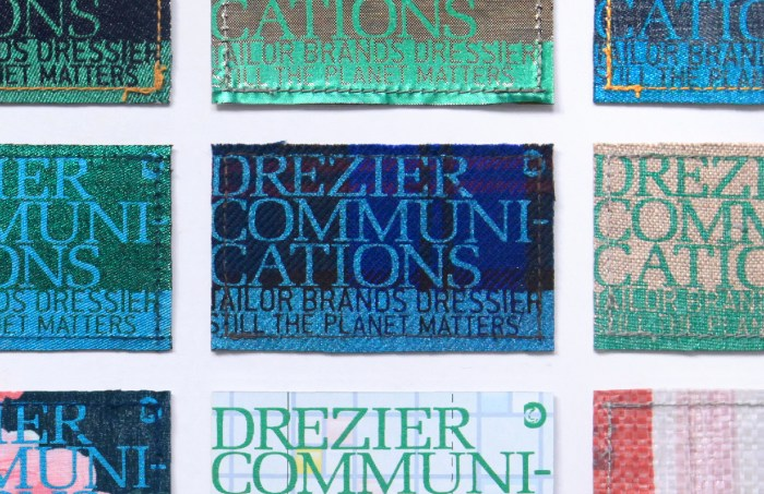 Drezier Communications :: Upcycling Name Cards