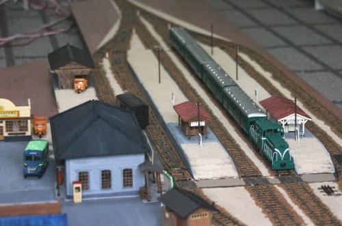 下り客車列車到着