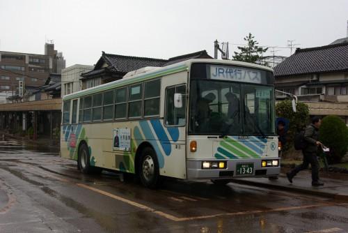 大糸線 423D代行バス
