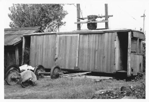 琴参の��体不明の有蓋貨車の達磨さん
