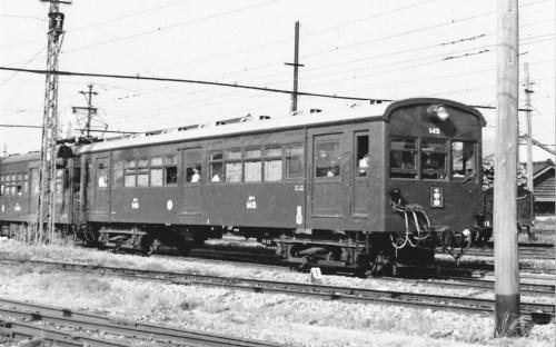 クハ140形145号はTR-23系を装備していた