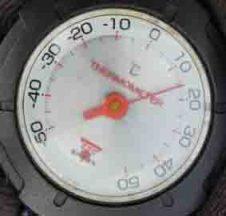 温度8時38分