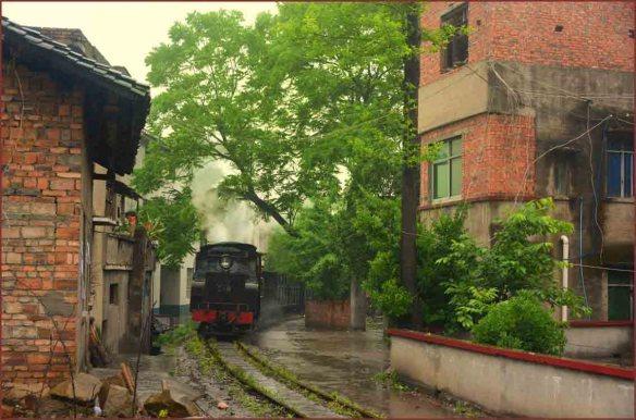 03_朝の列車