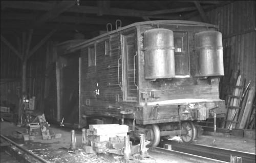 現役引退の木造キ74