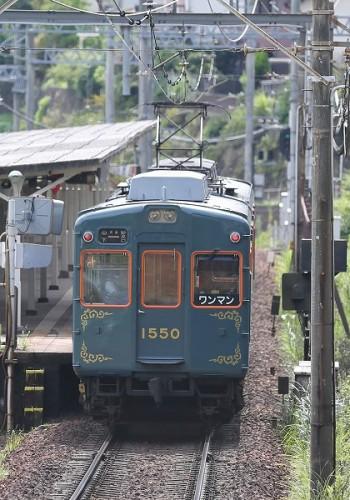 能勢電鉄100周年記念塗装車/2013.09.26/Posted by 893-2