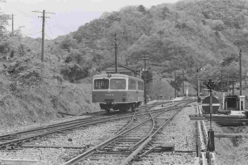 昭和39年春出雲坂根 DRFC新入会員歓迎旅行で乗ったキハ02
