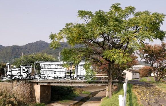jpgへっつい列車が走る鞆鉄道-1
