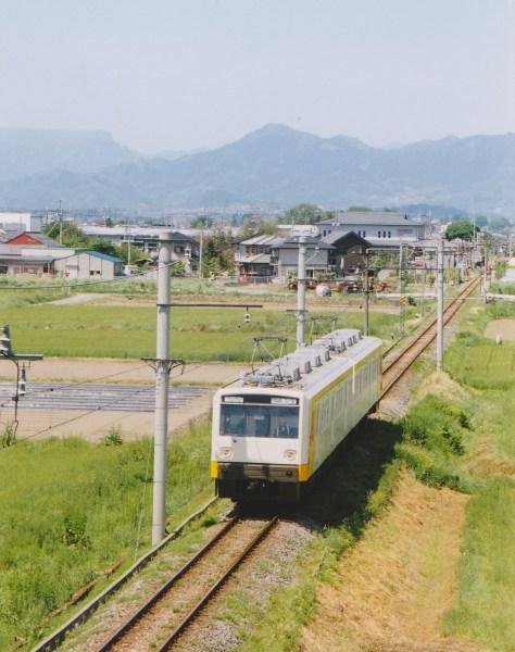 クモハ1001+クモハ1201 高崎行20列車  上州福島-上州新屋間