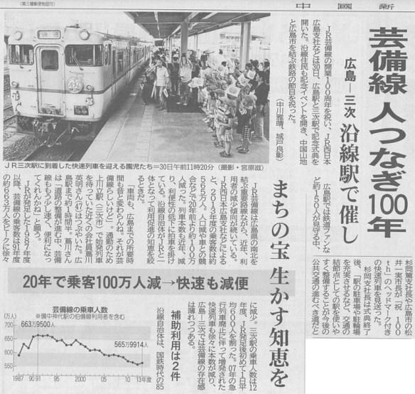 H27-5-31 中国新聞朝刊