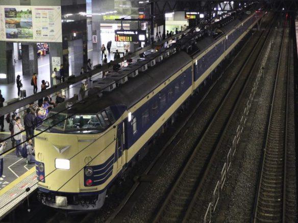 上り583ニコ超 京都 (3)