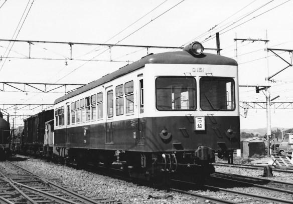 阪急からの木造車体は訪問後に軽量構造車に改造され、C15型となった。